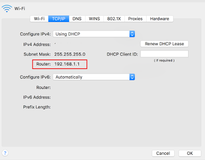 d link router login ip mac