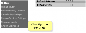 belkin router admin panel