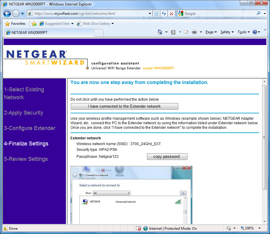 Netgear n150 wnr1000v3 Wireless Router WPS Configuration